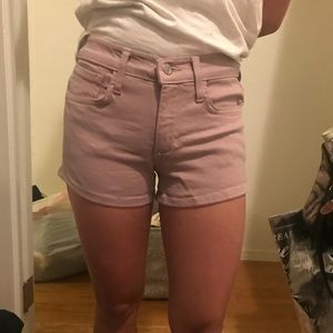 Mauve / Pink Denim Shorts Joe's Jeans